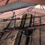 屋根葺き替え現場
