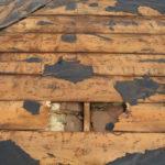 屋根葺き替え工事(屋根野地板も交換)