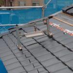 【研修風景】屋根施工も瓦も本当に色々です。